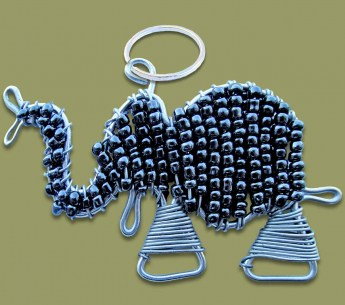 beaded-key-ring-elephant-black[1]